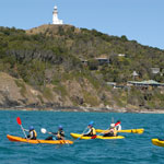 Kayak with Dolphins in Byron Bay - Lighthouse