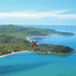 Townsville Magnetic Island - Aerial View