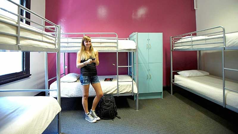 six share dorm room