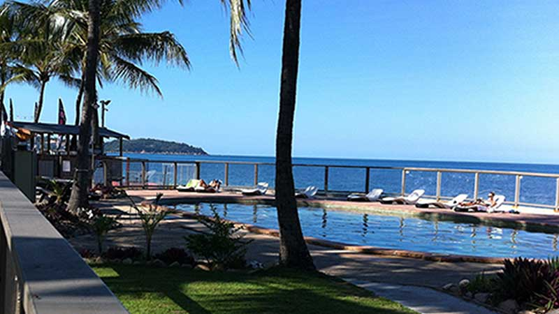 Magnetic Island beachside pool