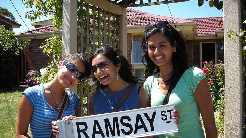 Ramsay St sign
