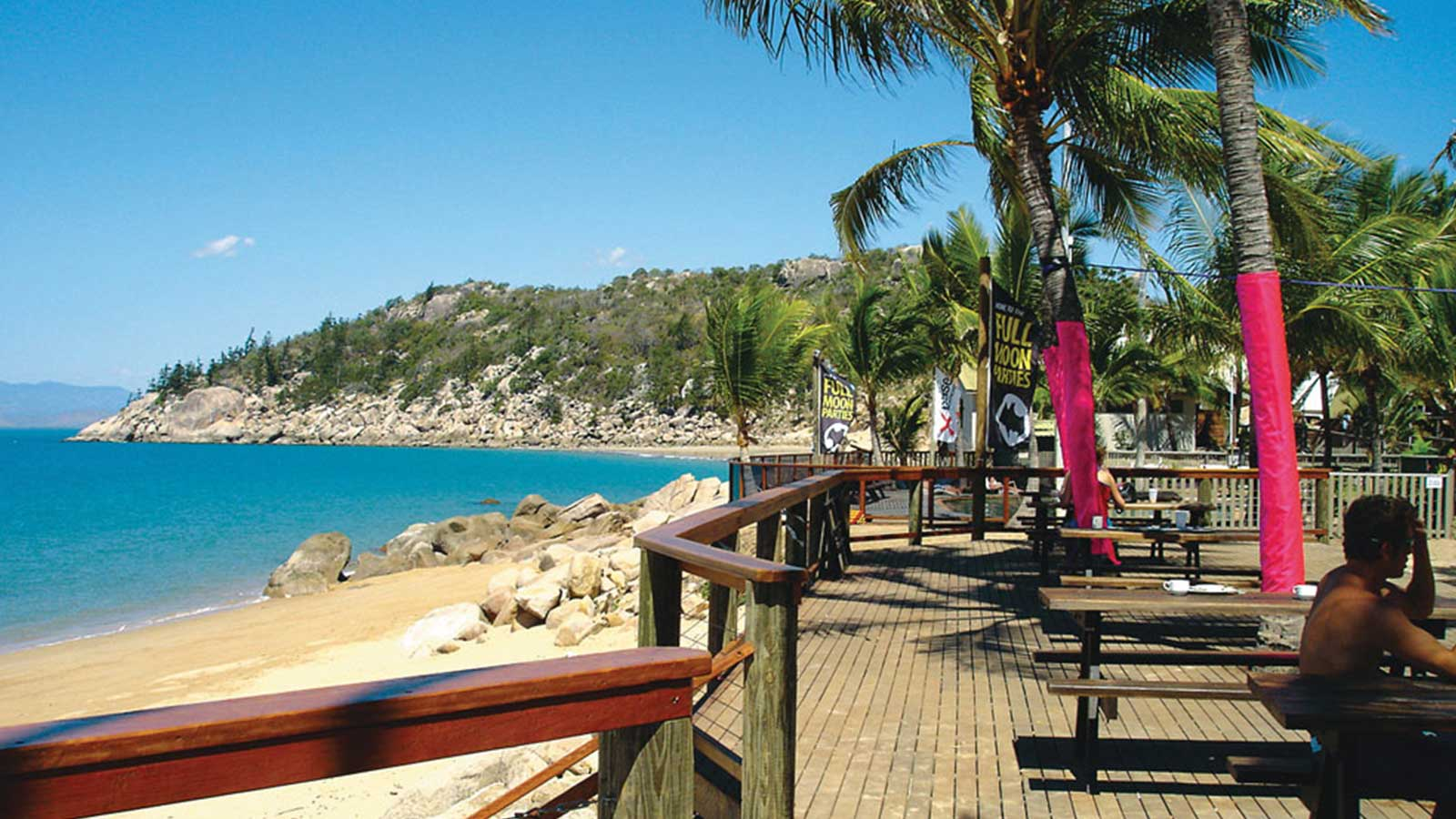 beachside view from Magnetic Island