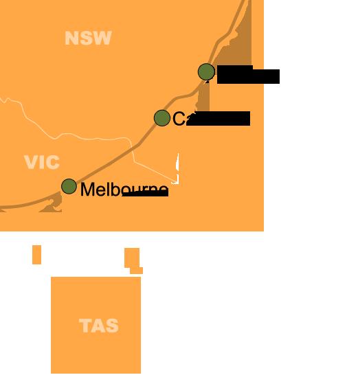 City Slick Sydney to Melbourne