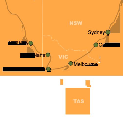 Southerner Sydney to Adelaide