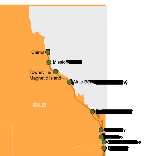 Banana Bender Byron Bay to Cairns