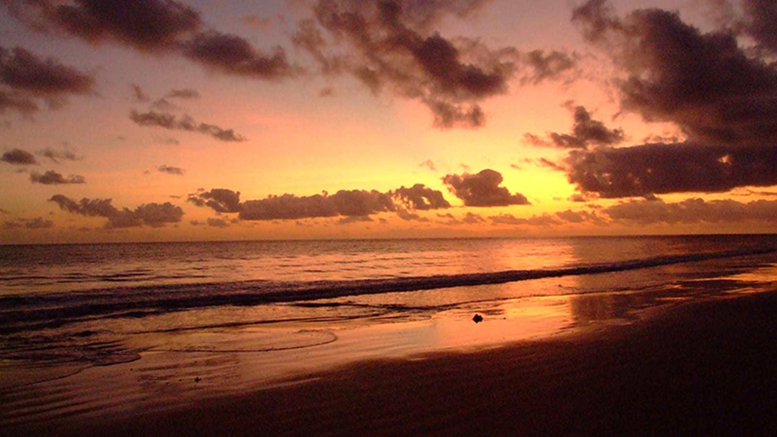 Sunset at Cape Tribulation