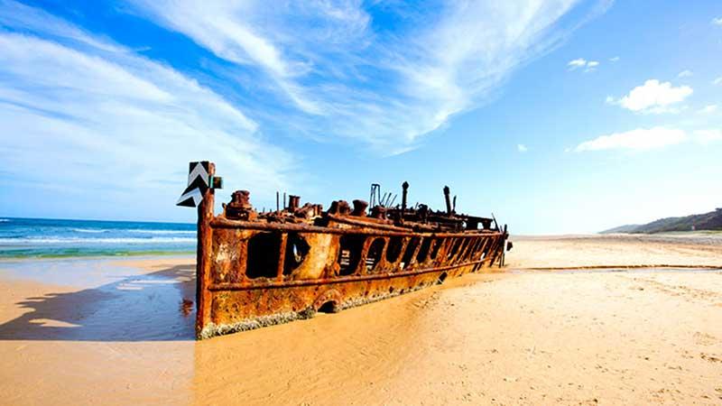 The Wreck of Maheno