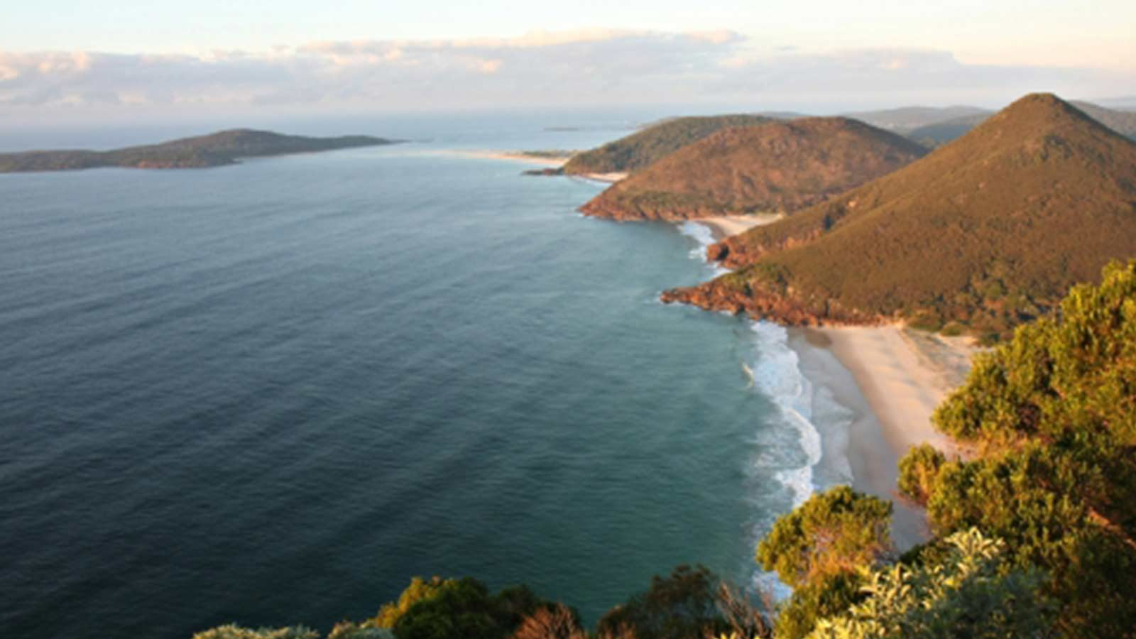 Port Stephens view of the Ocean