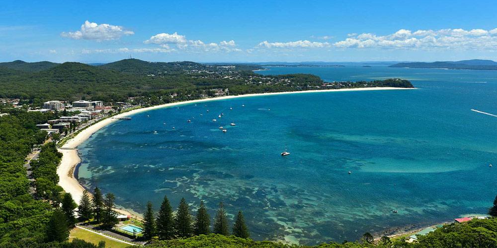 Port Stephens view of the Ocean