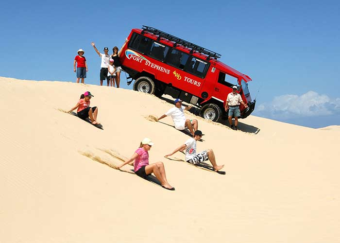 Boarding down the Sand dunes